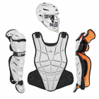 AFx FASTPITCH CATCHING KIT - WHITE / BLACK