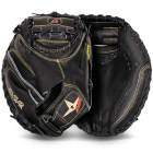 SOLID BLACK PRO-ELITE® CATCHERS MITT