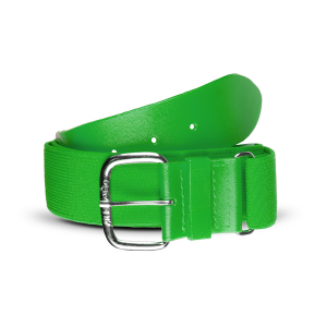 THE HELIX™ - LIFETIME ELASTIC BELT-KELLY GREEN-ADULT