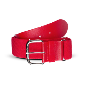 THE HELIX™ - LIFETIME ELASTIC BELT-SCARLET-ADULT