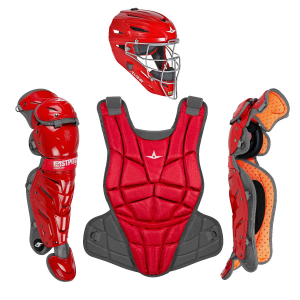AFx FASTPITCH CATCHING KIT - SCARLET