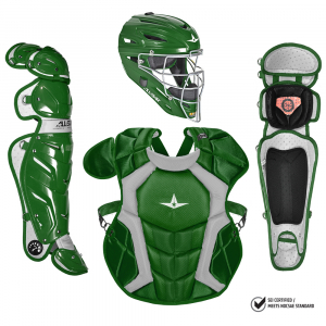 S7 Adult Pro Catching Kit // Meets NOCSAE-DARK GREEN