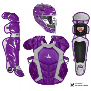 S7 Adult Pro Catching Kit // Meets NOCSAE-PURPLE