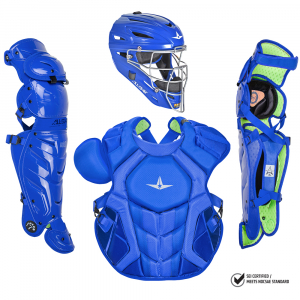 S7 AXIS™ ADULT CATCHING KIT, SOLID COLOR // MEETS NOCSAE-ROYAL