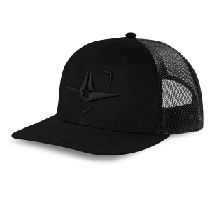 ALL-STAR SNAPBACK - PLATE LOGO - BLACKOUT