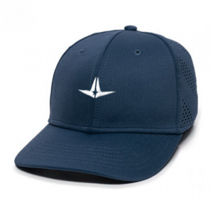 ALL-STAR FLEX FIT LOGO HAT-NAVY-LARGE/EXTRA LARGE