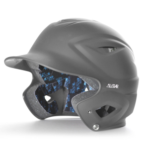 S7™ ADULT SOLID MATTE BATTING HELMET-GRAPHITE