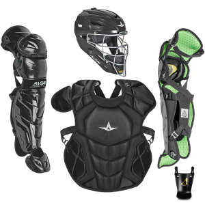 S7 AXIS™ AGES 9-12 SOLID COLOR // MEETS NOCSAE-BLACK