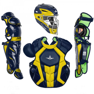 S7 AXIS™ TWO TONE ADULT CATCHING KIT // MEETS NOCSAE-NAVY/GOLD