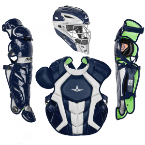S7 AXIS™ TWO TONE ADULT CATCHING KIT // MEETS NOCSAE-NAVY/WHITE