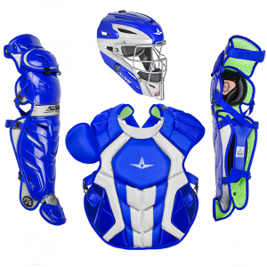 S7 AXIS™ TWO TONE ADULT CATCHING KIT // MEETS NOCSAE-ROYAL/WHITE