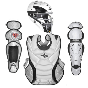 "PRO FASTPITCH WHITE TWO TONE 14.5"" CATCHING KIT"