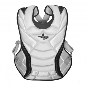 PRO FASTPITCH CHEST PROTECTOR WHITE TWO-TONE