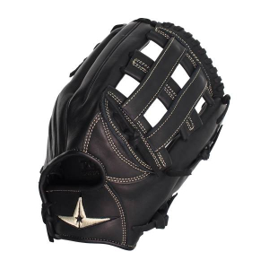 """YOUNG PRO SERIES 12"""" OUTFIELD H-WEB GLOVE-BLACK"""