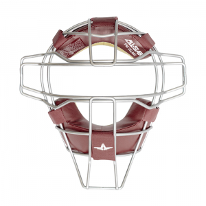 TITANIUM FACE MASKLEATHER PADS