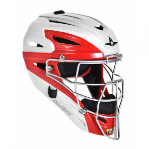 MVP2500 - ADULT, WHITE/SCARLET