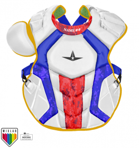 S7 AXIS™ CUSTOM CHEST PROTECTOR // MEETS NOCSAE