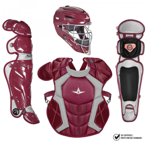 S7 Adult Pro Catching Kit // Meets NOCSAE-MAROON