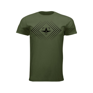 ALL-STAR PLATE LOGO TEE, OLIVE GREEN