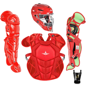 S7 AXIS™ AGES 9-12 SOLID COLOR // MEETS NOCSAE-SCARLET