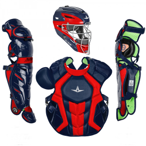 S7 AXIS™ TWO TONE ADULT CATCHING KIT // MEETS NOCSAE-NAVY/SCARLET