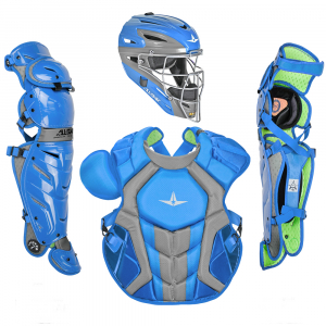 S7 AXIS™ TWO TONE ADULT CATCHING KIT // MEETS NOCSAE-SKY BLUE