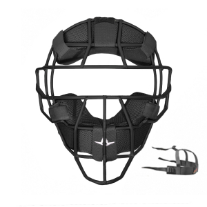 S7™ UMPIRE TRADITIONAL MASK, MATTE BLACK FINISH, LUC PADS