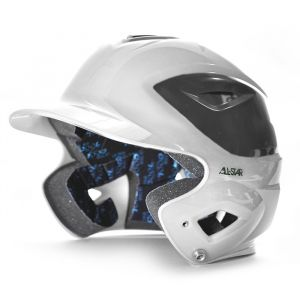 S7™ ADULT GLOSS WHITE TWO-TONE BATTING HELMET