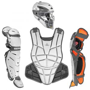 AFx FASTPITCH CATCHING KIT - WHITE / GRAPHITE