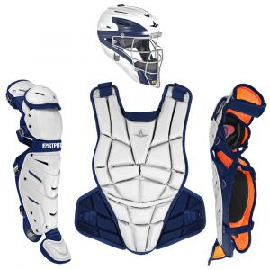 AFx FASTPITCH CATCHING KIT - WHITE / NAVY