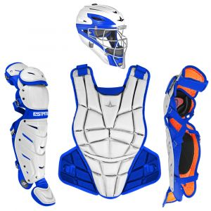 AFx FASTPITCH CATCHING KIT - WHITE / ROYAL