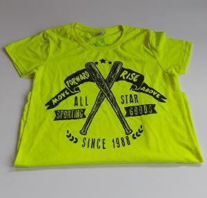 ALL-STAR T-SHIRT, BRIGHT YELLOW